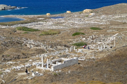 View of Delos today