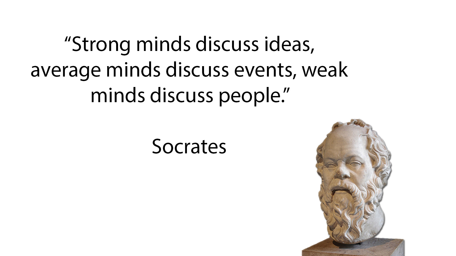Socrates Quotes: The Logical Place