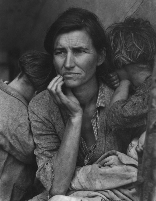 Migrant Mother, Nipomo, California, 1936 © The Dorothea Lange Collection, the Oakland Museum of California